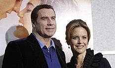 JohnTravolta and Kelly Preston