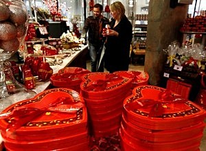 Chocolatiers Sell Sweet Treats For Valentines Day
