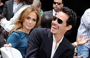 Jennifer Lopez and Mark Anthony
