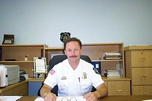 Police Chief Randy Szukala, NTPD