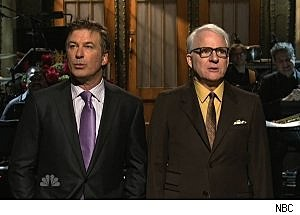 Alec Baldwin and Steve Martin on SNL