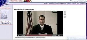 Williamsville School District Superintendent Scott Martzloff