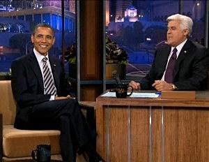 President Obama on Leno
