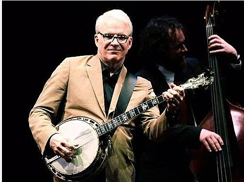 Steve Martin playing Banjo