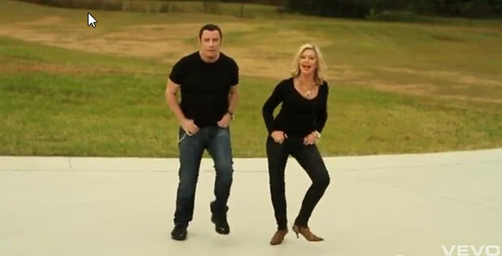 John Travolta & Olivia Newton-John = Worst Christmas Song Ever [VIDEO]