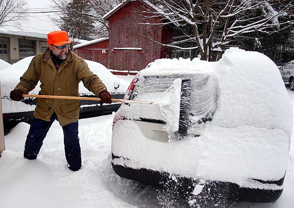 car, snow
