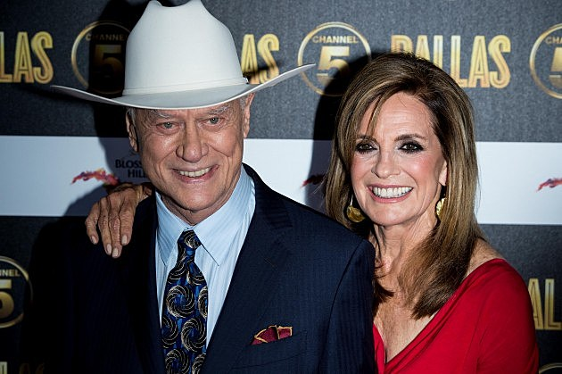 Larry Hagman, JR Ewing