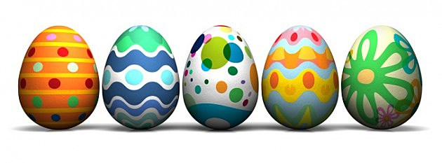 Decorated Eggs (Getty)