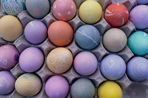 Decorated Eggs 2 (Getty)