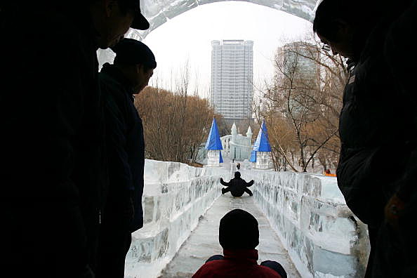 Ice Slide (Getty)