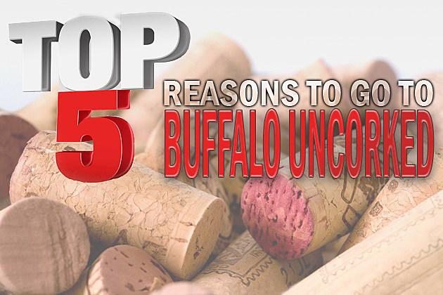 Top 5 List- Buffalo Uncorked