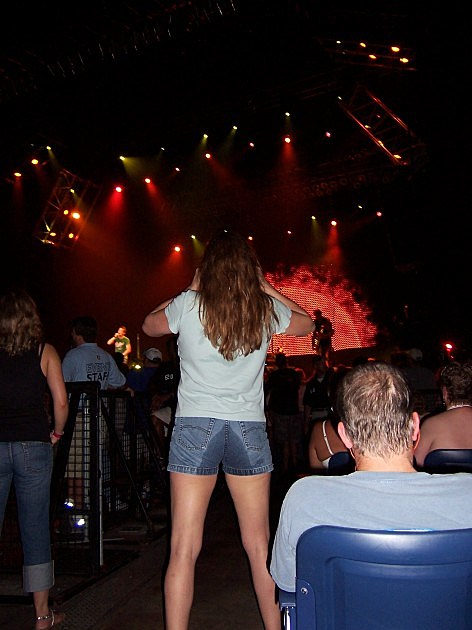 Girl at 3 Doors Down- Raleigh