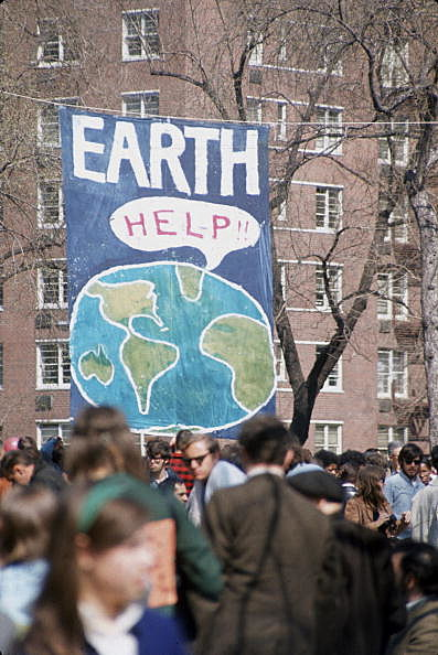 Earth Day 1970 (Getty)