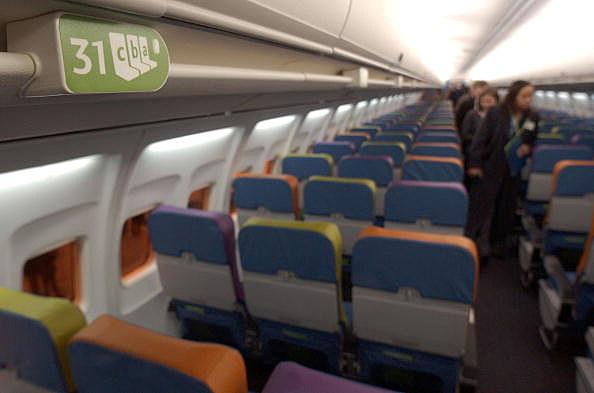 Delta Airlines Jet Interior (Getty)