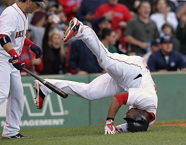 Boston Red Sox fall (Getty)