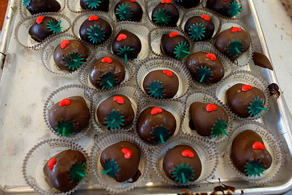 Chocolate Covered Strawberries (Getty)