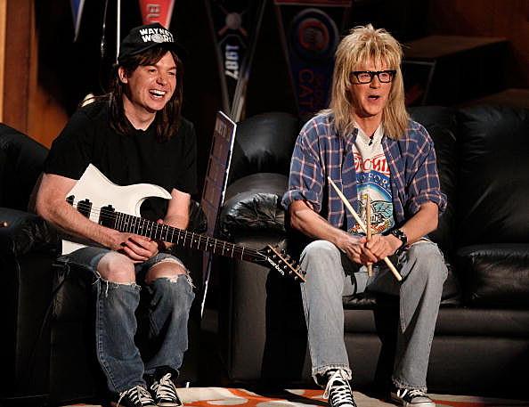 Wayne & Garth (Getty)