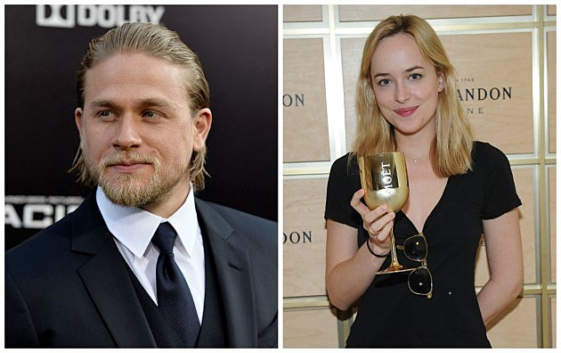 Charlie Hunnam & Dakota Johnson (Getty)