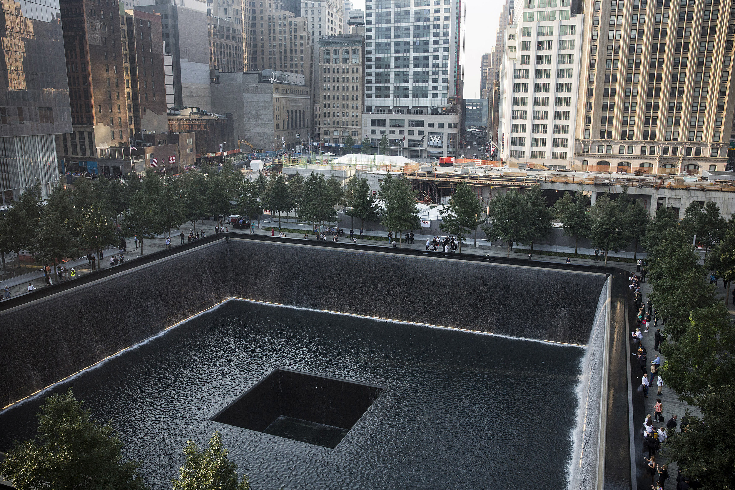 New York Commemorates The 12th Anniversary Of The September 11 Terror Attacks (Getty Images)