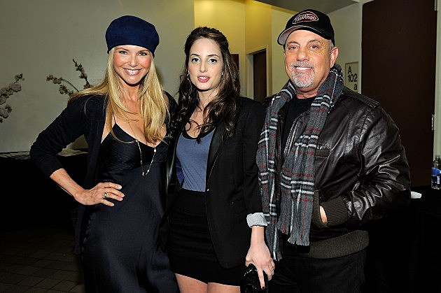 Christie Brinkley, Alexa Ray Joel and Billy Joel (Getty)