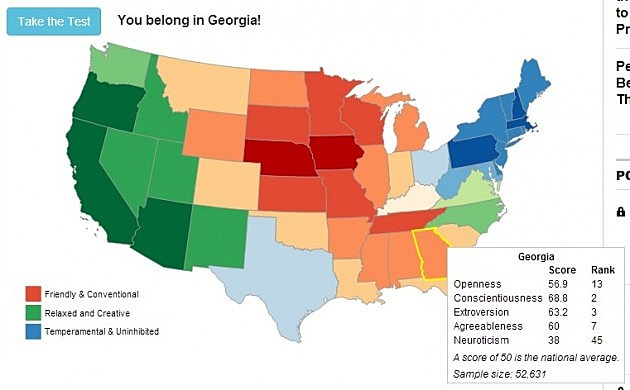 Heather Should Live In Georgia (Which State Matches Your Personality Test- Time)