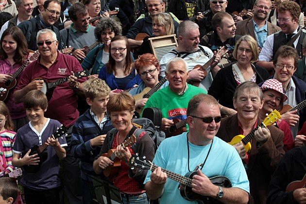 Britain's First Ukulele Festival (Getty)