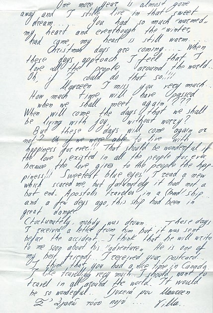 Letter 2 (Heather Davis)
