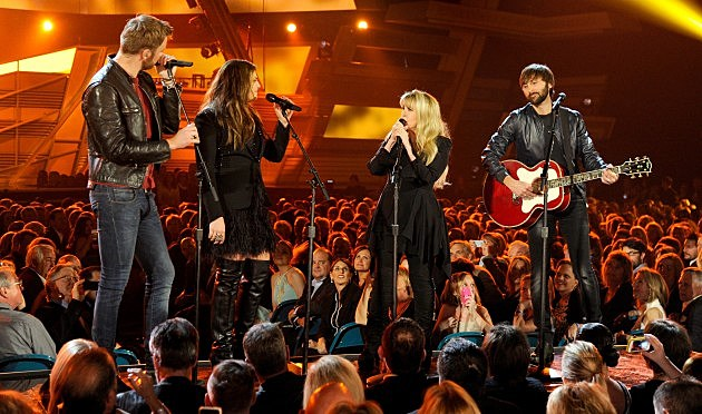 Lady Antebellum and Stevie Nicks (Getty)