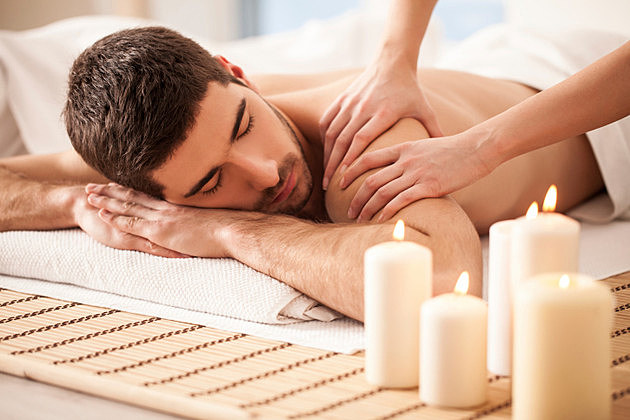Man on a Massage