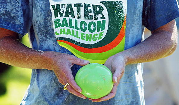 World Record Water Balloon Challenge