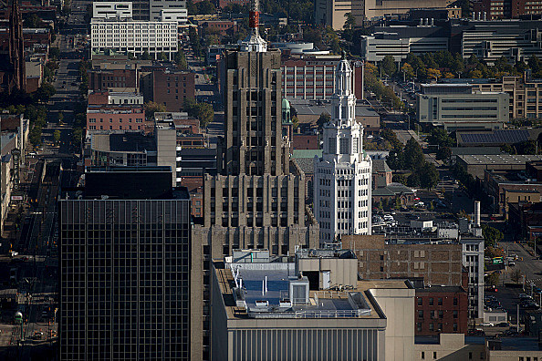 General Views Of Buffalo As Sept. Empire Manufacturing Sees Demand Still Rising