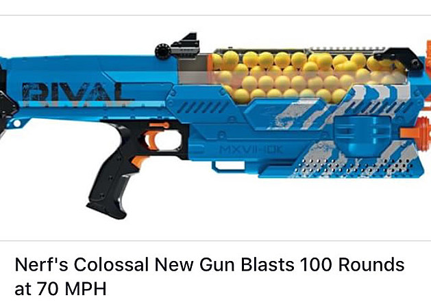Pin on Painted Blaster Props  |Nerf Guns Awesome Looking