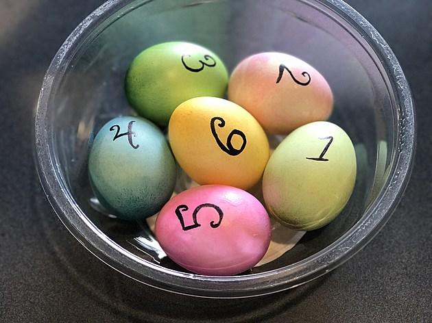 Egg Roulette eggs